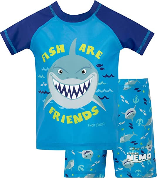 Disney Boys Finding Nemo Two Piece Swim Set