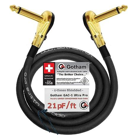 Gotham GAC-1 Ultra Pro - Cable de conexión de bajo consumo para ...
