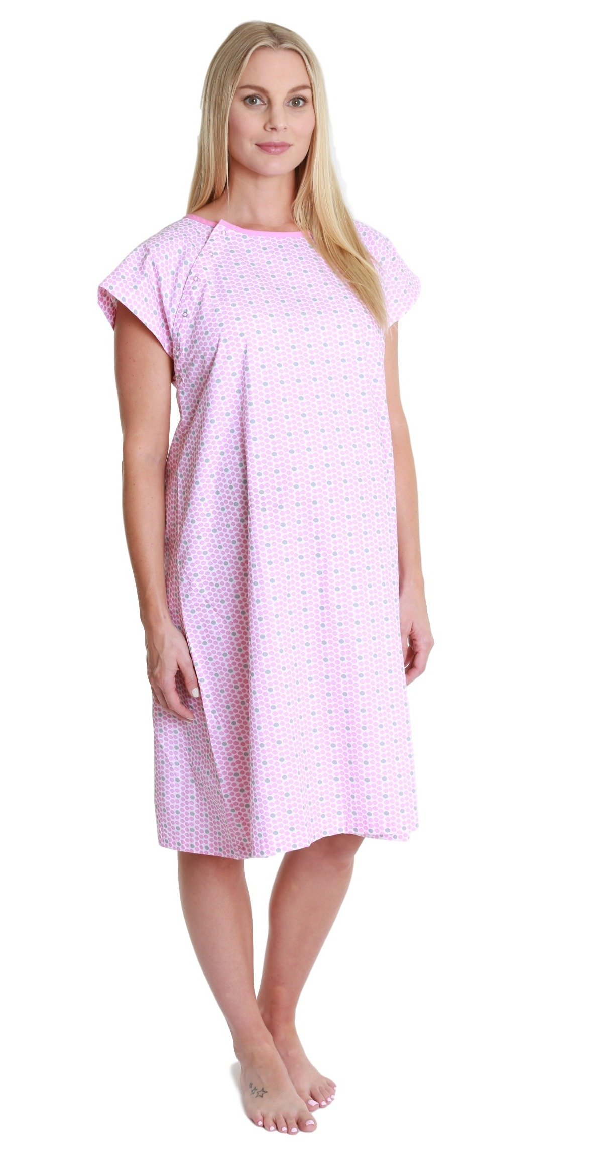 Gownies Hospital Patient Gown, Designer (S/M Size 0-10, Chloe)