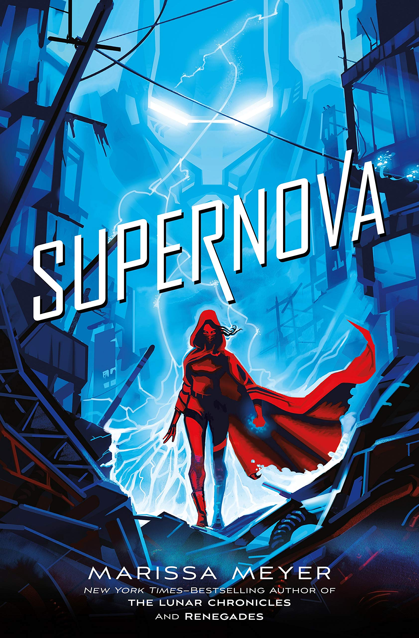 Image result for marissa meyer supernova