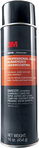 3M 03584 Professional Grade Rubberized Undercoating, Corrosion, Water, and Salt Spray Resistant