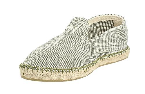 Alpargata Espiga Pata de Gallo Kaki Hombre: Amazon.es: Zapatos y complementos