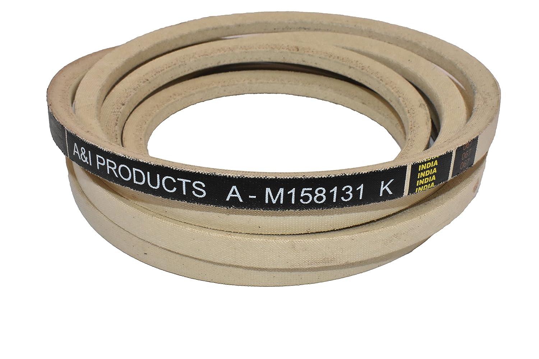 Ai Products Kevlar Deck Belt Part No A M158131 Mower Diagram In Addition John Deere Industrial Scientific