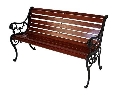 Panchine Da Giardino In Ghisa : Panchina da lussemburgo panca da giardino in ghisa con legno
