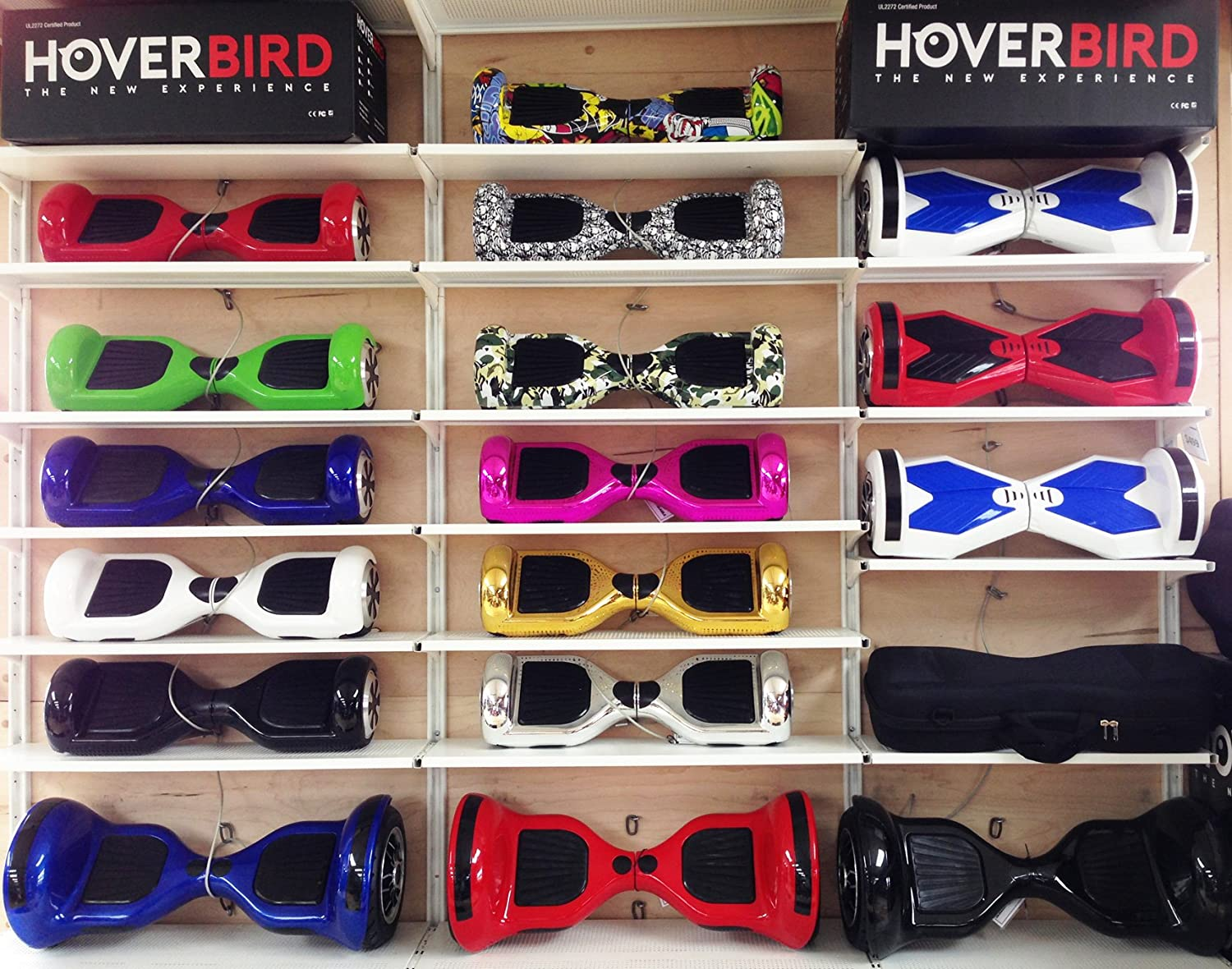 Amazon.com: hoverbird i5 ul2272 Certified Hoverboard Dos ...