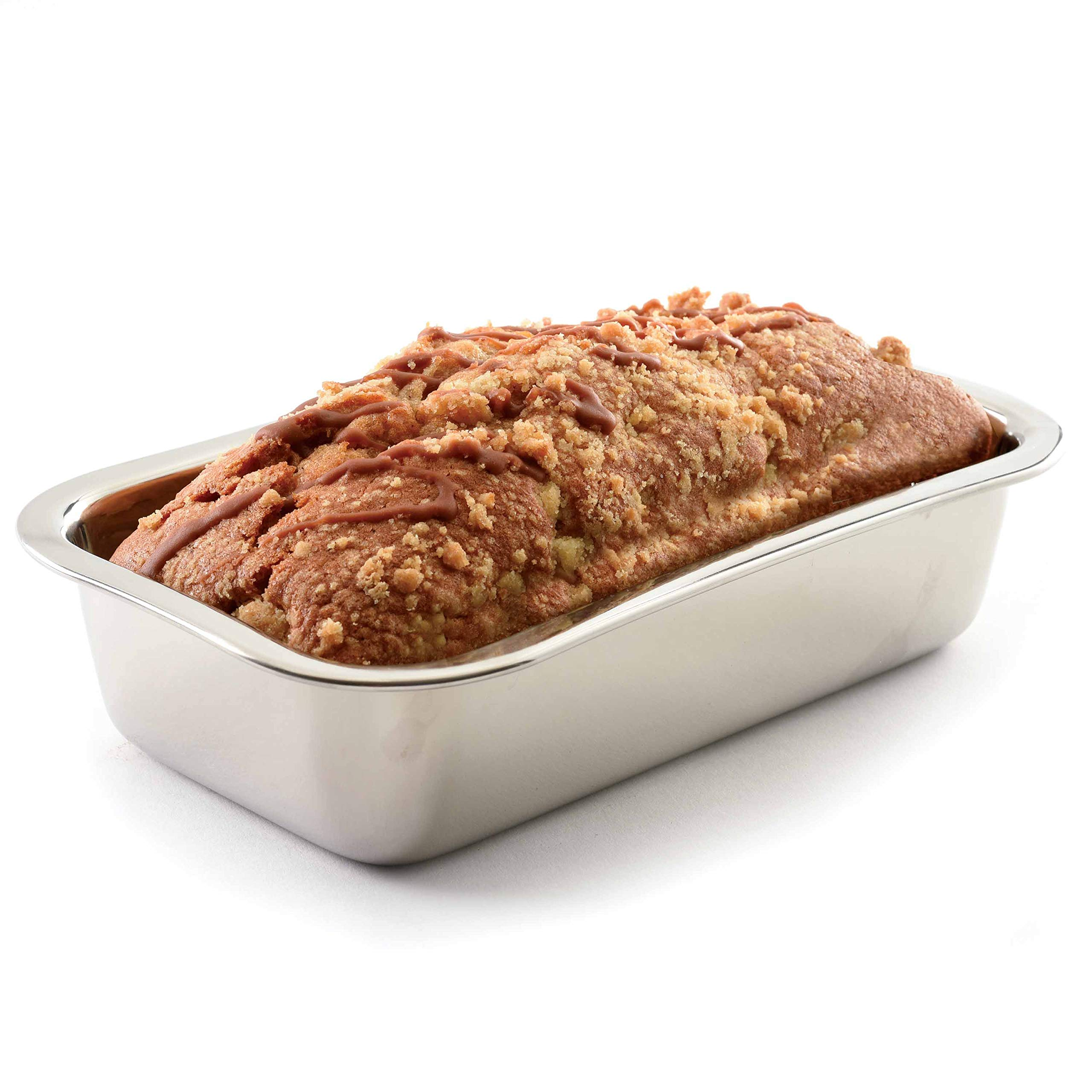 Norpro 3849 Stainless Steel Loaf Pan by Norpro