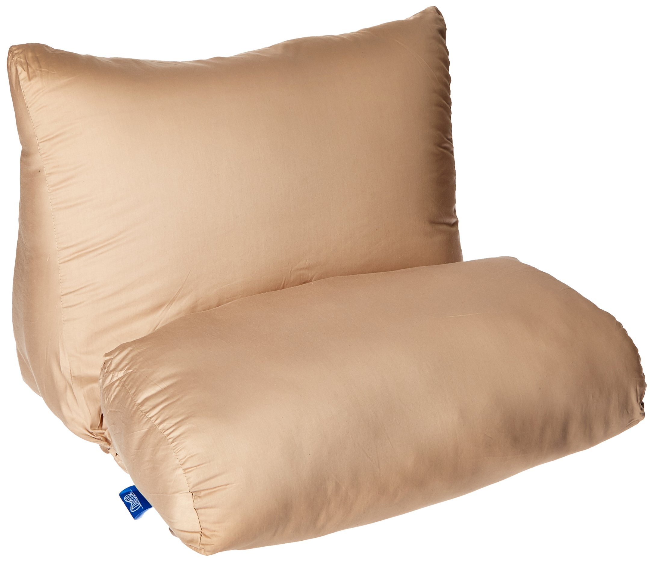 Contour Products 10in1 Flip Pillow Cover, Beige