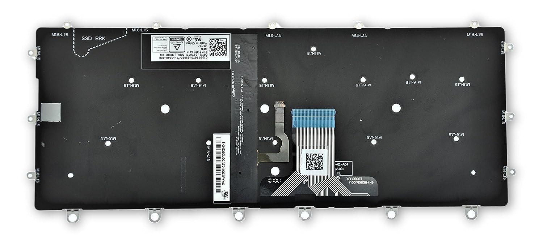 Dell XPS 13 9365 2-in-1 GERMAN Backlit Laptop Keyboard 01T6TM