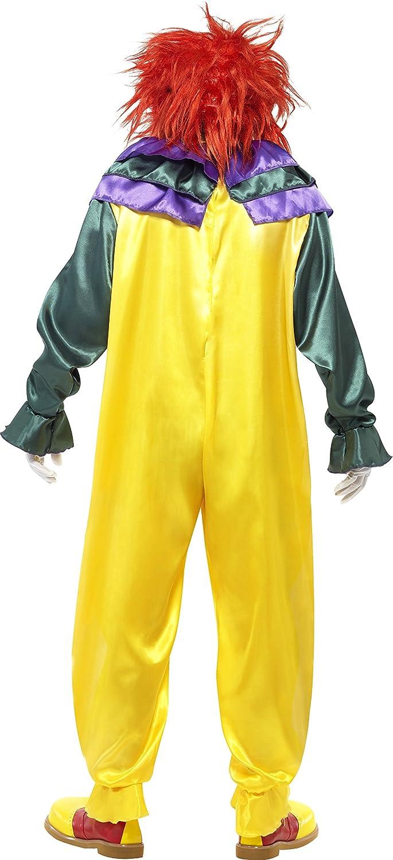 amazon com smiffys men u0027s classic horror clown costume clothing