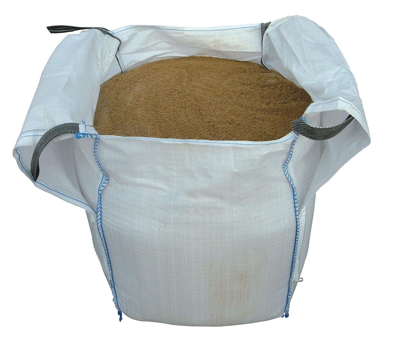 LARGE BULK DUMPY BAG SHARP SAND 855KG FOR FINE CONCRETE WORK UNBRANDED