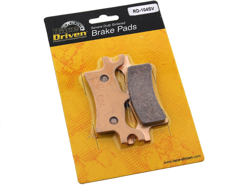 2010 2011 2012 2013 Polaris 330 Trail Boss Rear Brake Rotor Disc and Brake Pad