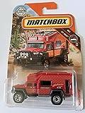Matchbox 2019 MBX Off-Road Road Tripper (Camper) 70/100, Red