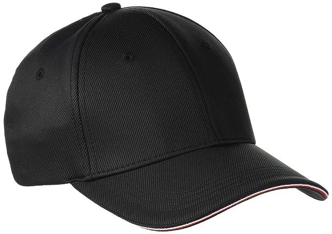 6ecfcbbc Tommy Hilfiger Men's Elevated Baseball Cap, (Black 002), One (Size: OS):  Amazon.co.uk: Clothing