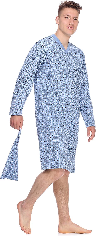 Timone Chemise de Nuit Pyjama V/êtement dInt/érieur Homme TIDR5001
