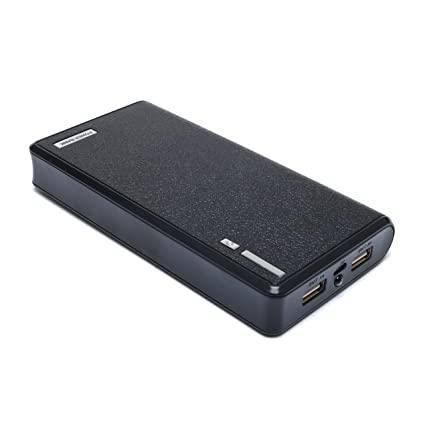 SLE 20000mAh USB External Battery Backup Power Bank for Tablet PC Smart Phone iPhone Samsung BlakBerry Nokia HTC MP3 MP4 (Black)