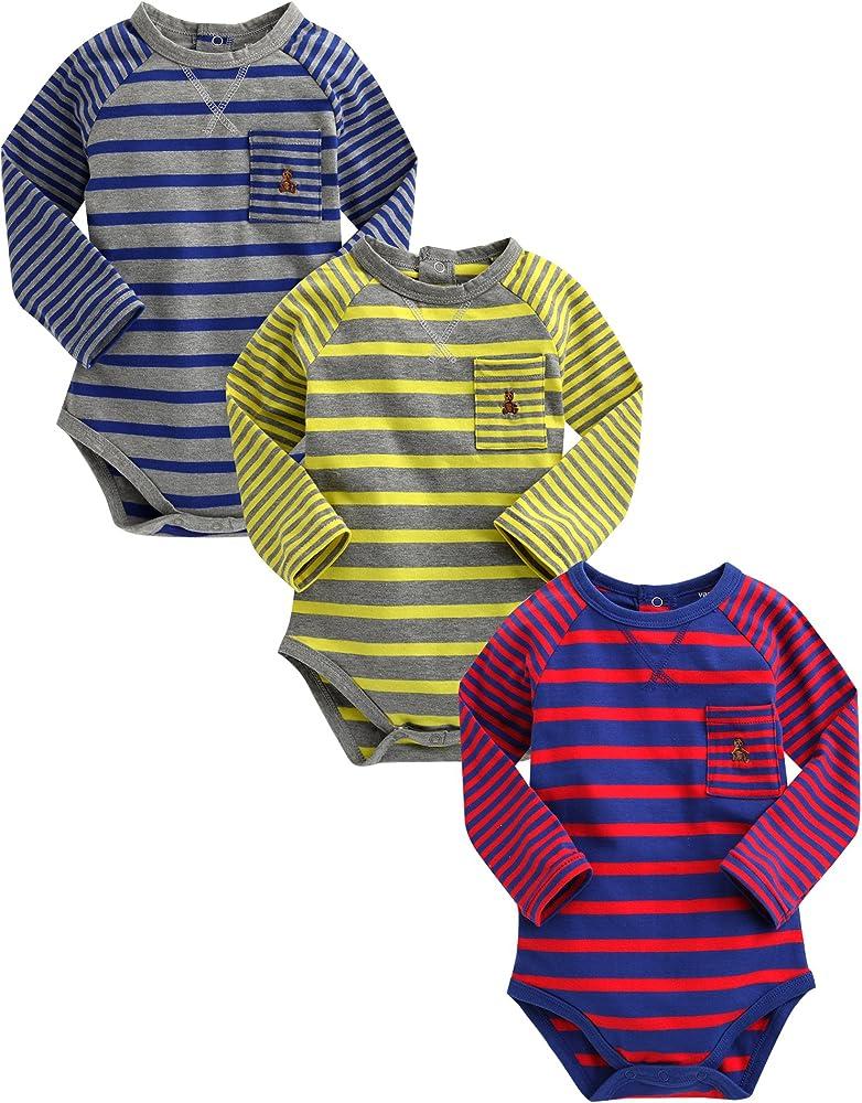 Vaenait Baby 3 – 18 M SAU gling Infant Joven 3 Pack One Piece Body Suit Spy Baby Boy Multicolor Multicolor: Amazon.es: Ropa y accesorios