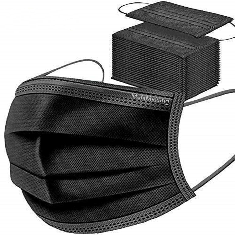 MaNMaNing Protección Pack 200 Unidades Negro 20200702-MANING-X200 C