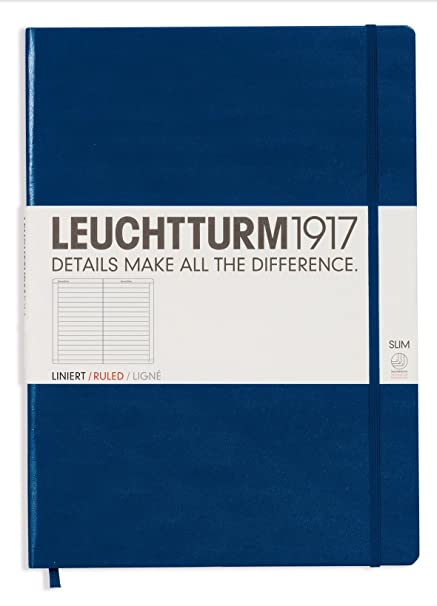 Notizbuch Master A4 liniert rot