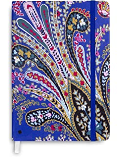 Vera Bradley Gray Dot Journal with 184 Bleed Resistant Pages (Romantic  Paisley) 2f939a22fc352