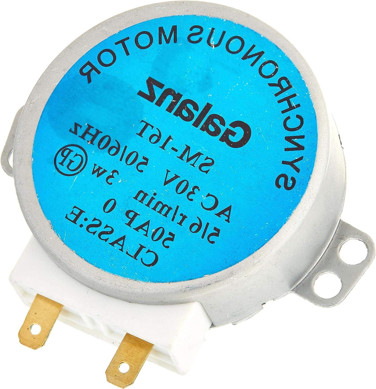 LAQI Motor síncrono para Horno de microondas SM-16T AC 30V 3.5 ...