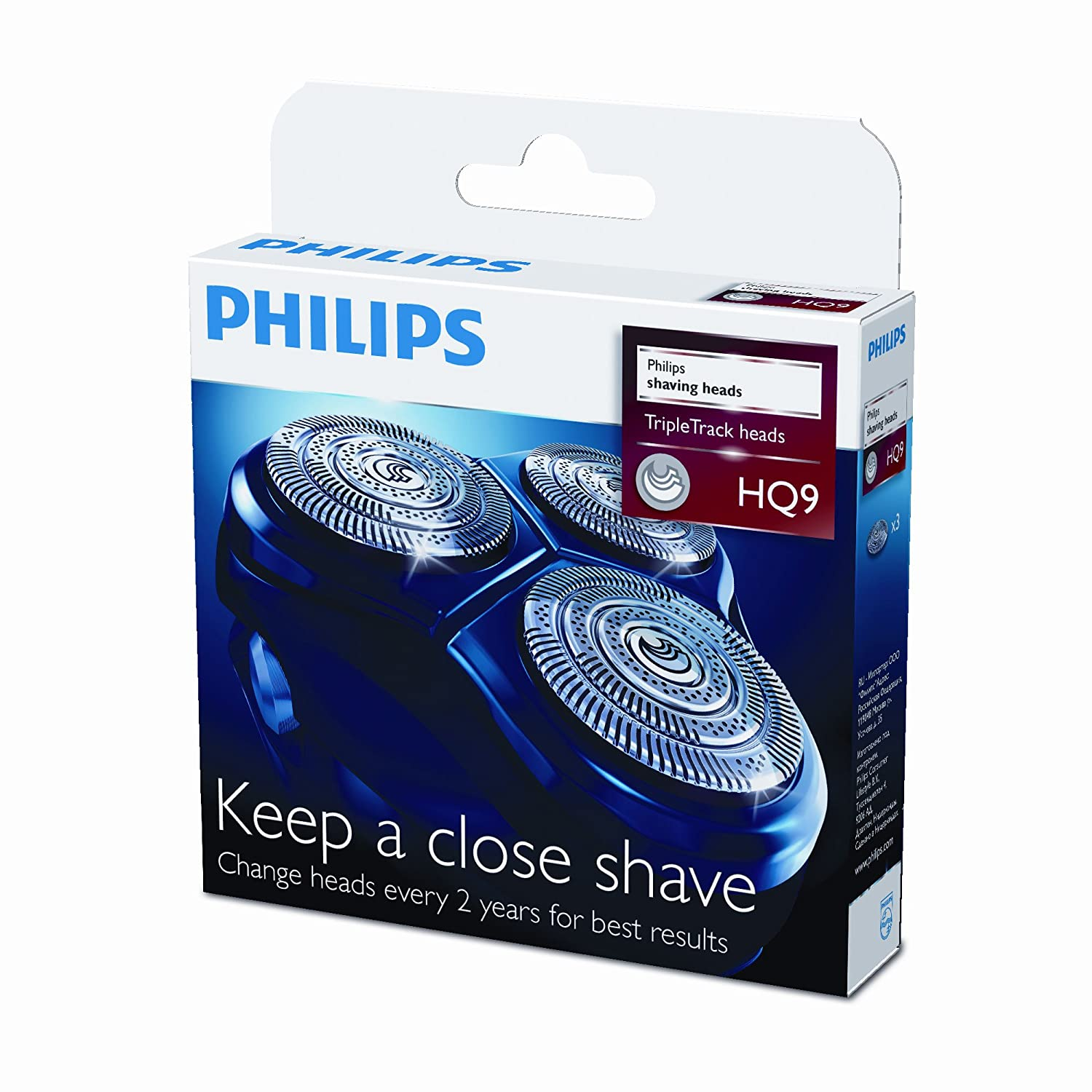 Philips Norelco HQ9/50 Replacement Shaving Heads (3 Pack)