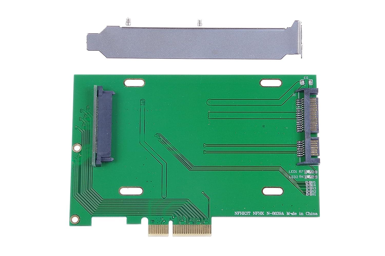 xiny PCI-E 3.0 x4 A U.2 U2 kit SFF-8639 adaptador de Host para ...