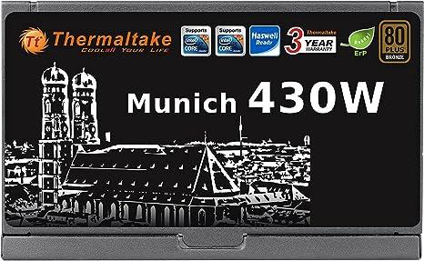 Thermaltake Munich 430w 80plus Bronze Atx Netzteil Computer Zubehör