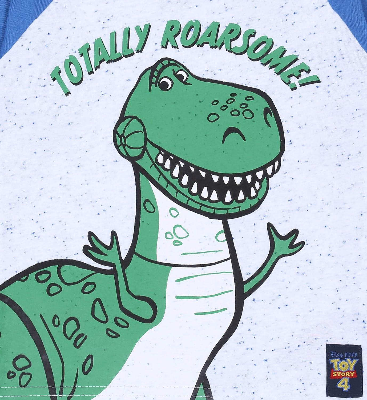 3X Maglietta Verde-Grigia per Ragazzi Toy Story Disney