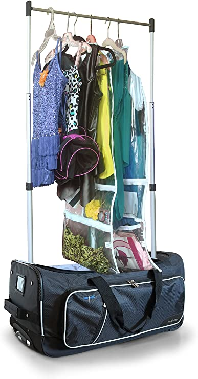 Travolution 23 Inch Garment Rack Duffel with Wheels