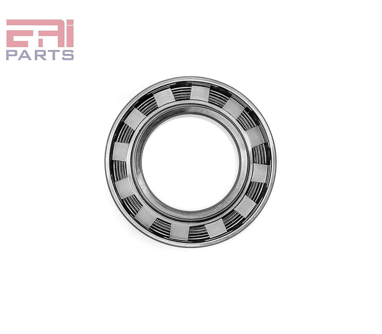 "EAI Oil Shaft Seal 1 1//2/""x2 1//2/""x3//8/"" TC Dbl Lip w// Spring 1.500/""x2.500/""x0.375/"""