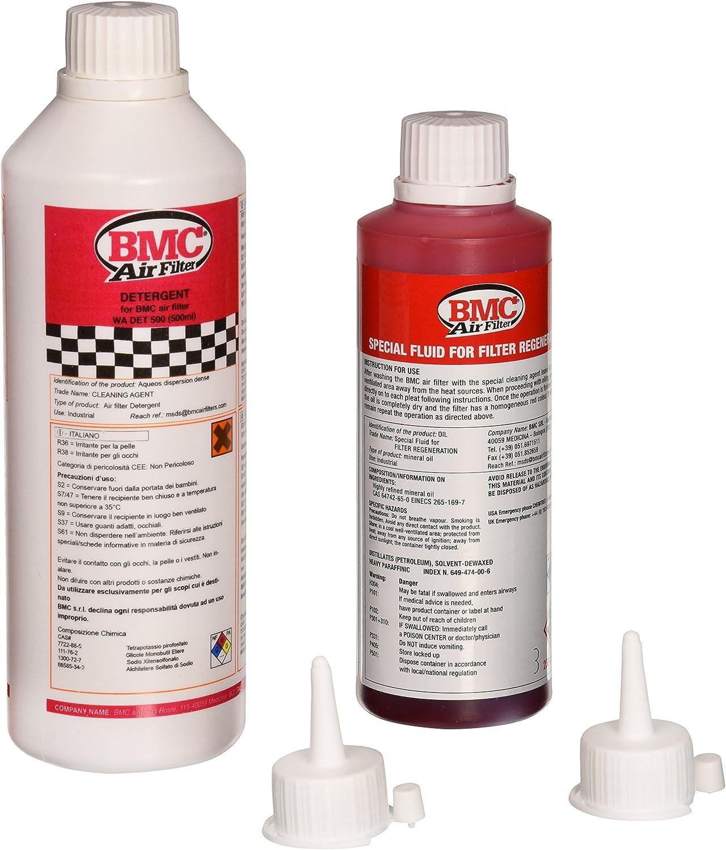 BMC WA250-500 Set de Limpieza de filtros de Aire: Amazon.es: Coche ...