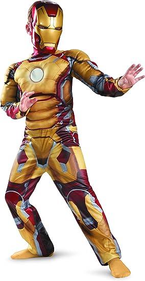 Disguise Inc – Iron Man 3 Mark 42 Classic Muscle Disfraz: Amazon ...