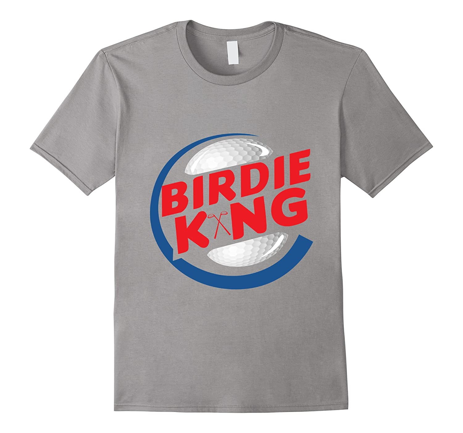 3433101f Funny Birdie King Golf and Disc Golf T-shirt-FL - Sunflowershirt
