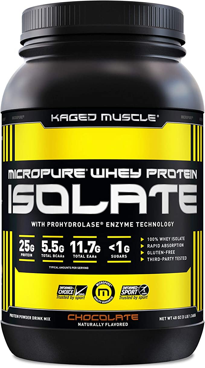 Kaged Muscle Whey Protein Powder