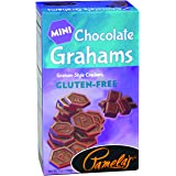 Pamela's Products Gluten Free Graham Crackers, Chocolate Minis, 7 Ounce