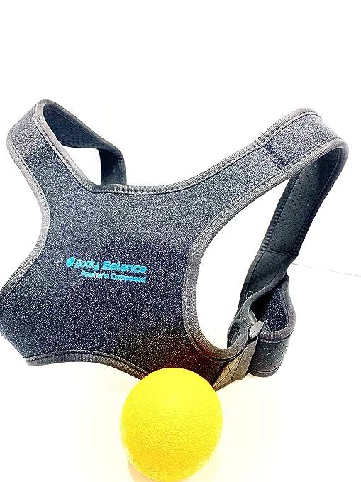 Corrector de postura para hombres y mujeres Soporte ajustable para el hombro y la espalda Mejora la postura del hombro en la parte superior de la ...