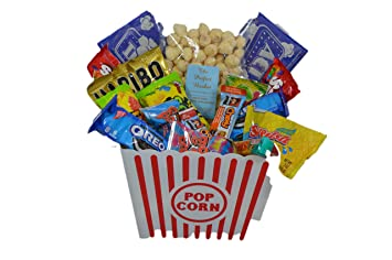 Ultimate movie night gift bundle care package easter basket ultimate movie night gift bundle care package easter basket popcorn candy cookies negle Images