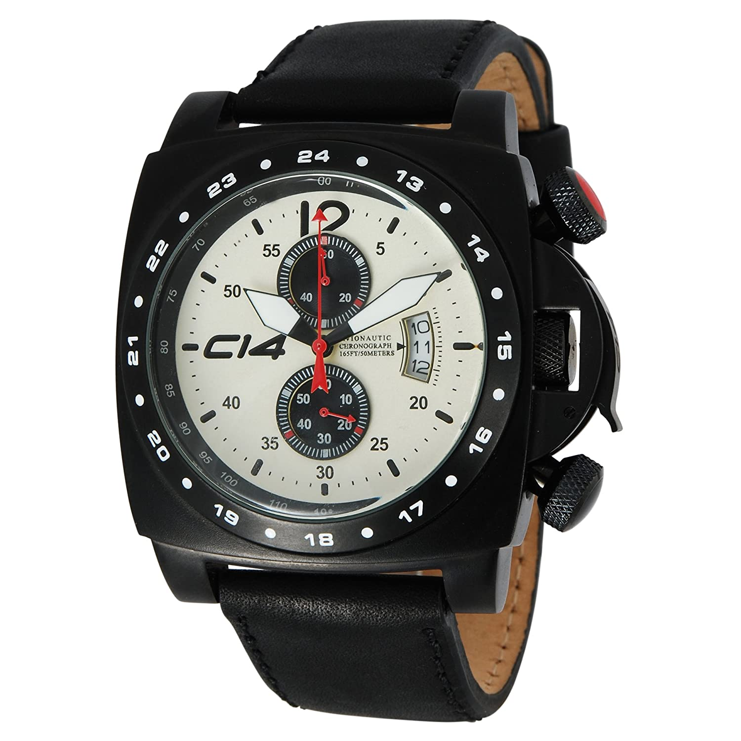 CARBON 14 Herrenuhr Quarz A1.3