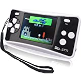 "WOLSEN 2.5"" Color Portable Handheld Game Console w/152 Games & speaker (BLACK)"