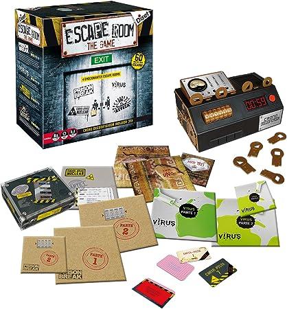 Juego de aventura,Una Experiencia Escape room de verdad,Adecuado para jugar en grupo