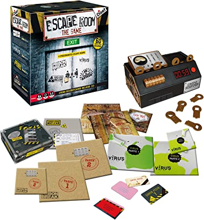 comprar Diset- Juego Escape Room Habilidad/Estrategia, Miscelanea (62304)
