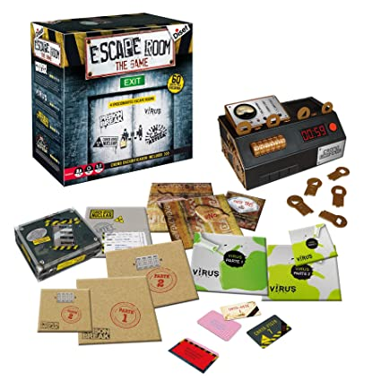 Amazon.com: Diset Escape Room – Strategy Game, S.A 62304 ...