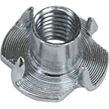 100 zinc-plated T-nuts M 10