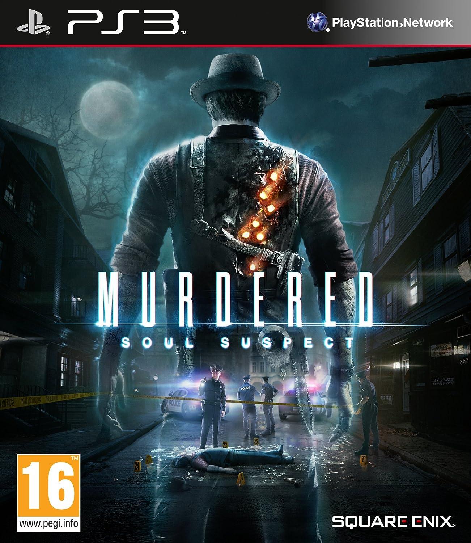 Kết quả hình ảnh cho Murdered - Soul Suspect cover ps3