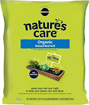 Miracle-Gro 1.5 cu ft Raised Beds Organic Soil
