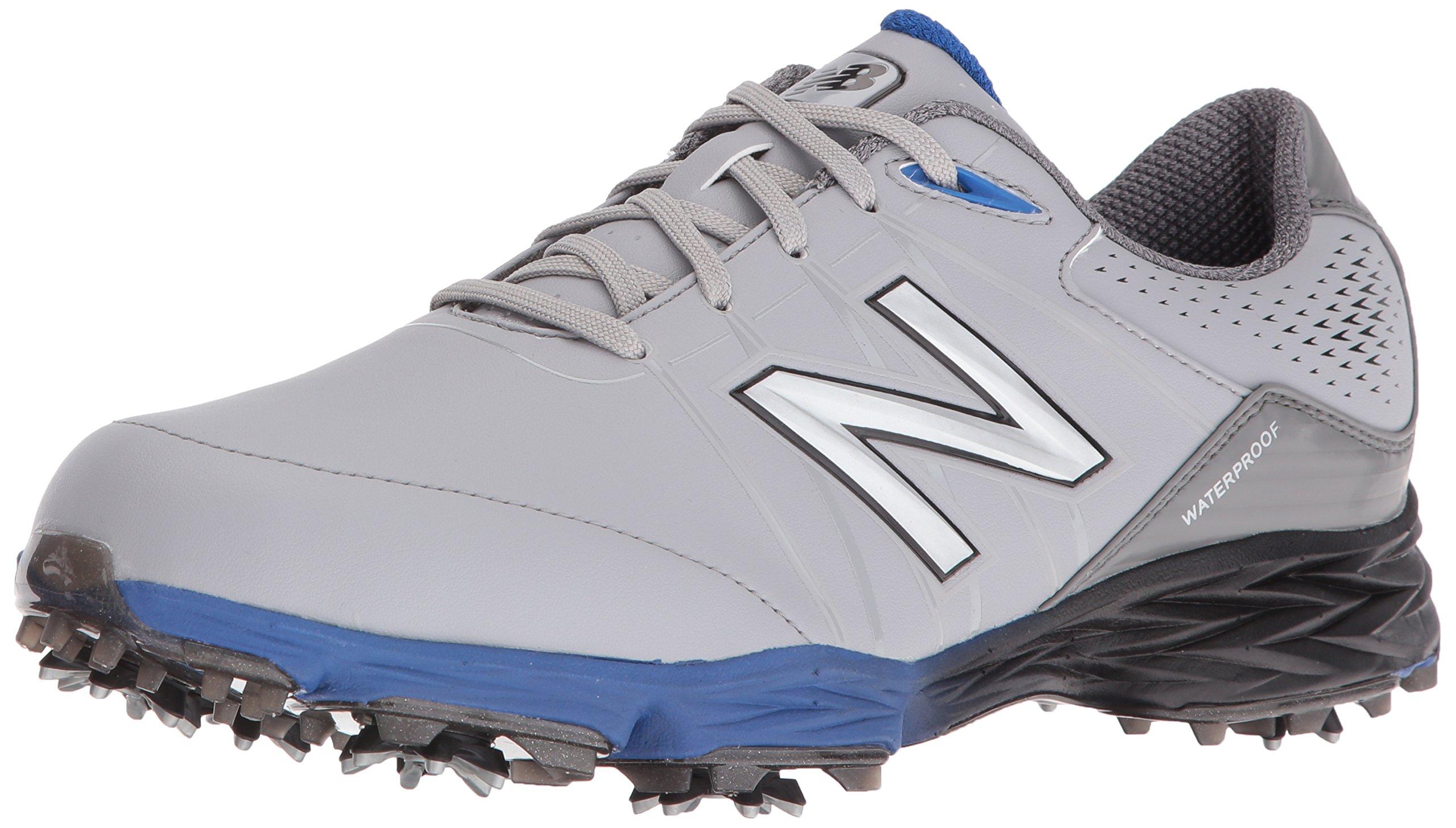 New Balance Men's nbg2004 Golf Shoe, Grey/Blue, 10.5 D US by New Balance