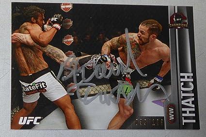 2015 Topps UFC Champions Fightings Future Diecut #FF-BT Brandon Thatch