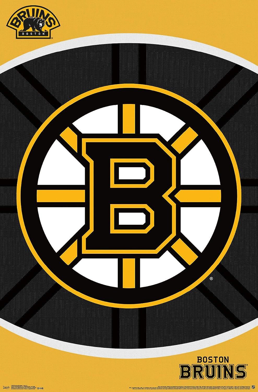 Trends International Wall Poster Boston Bruins Logo 22.375 x 34