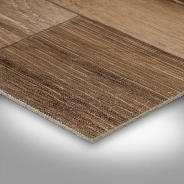 400 cm breit Holzoptik Diele Eiche rustikal 300 BODENMEISTER BM70566 Vinylboden PVC Bodenbelag Meterware 200