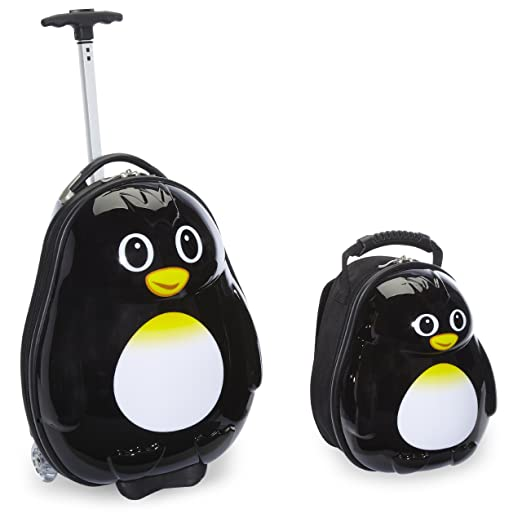 Travel Buddies Luggage - penguin